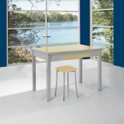 Mesa de cocina extensibles alas laterales modelo Soria