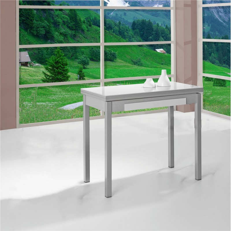 Mesa de cocina extensible tipo Libro modelo Libra