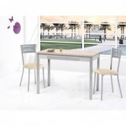 Mesa Cocina fija con tapa laminada modelo Jaén