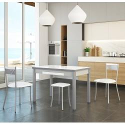 Silla de cocina asiento polipiel y respaldo a juego modelo Ronda
