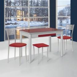 Mesa de cocina extensible lateral Gandía
