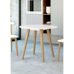 Mesa fija de madera 70 - 80 Leon