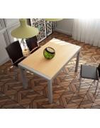 Mesas de cocina fijas elegantes y muy prácticas.